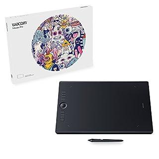 Wacom Intuos Pro tableta digitalizadora 5080 líneas por pulgada 311 x 216 mm USB/Bluetooth Negro - Tableta gráfica (Inalámbrico, 5080 líneas por pulgada, 311 x 216 mm, USB/Bluetooth, Pluma, Tocar, 2 m) (B01MY0TG4L) | Amazon price tracker / tracking, Amazon price history charts, Amazon price watches, Amazon price drop alerts