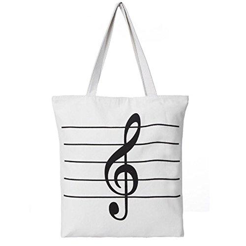 Umhänge Weiß Weiß Tasche Handtasche Umhängetasche Damen Yesiidor Töte Shopper Schwarz tRxvwxBq