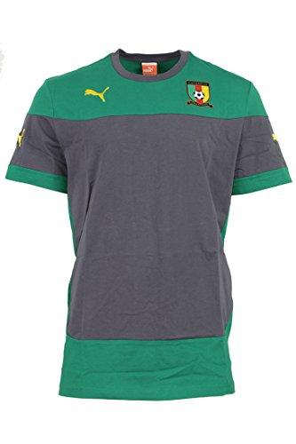 Puma Cameroon Training Jersey Gr. XL Kamerun Herren Trikot green, Bekleidungsgröße:XL