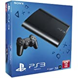 NEW! Sony Playstation 3 PS3 12Gb Super Slim Console Black UK