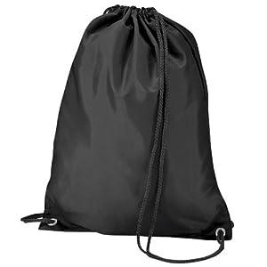 416Z%2BWoPITL. SS300  - BagBase - Mochila saco o de cuerdas Impermeable/resistente al agua Deporte/Gimnasio (11 litros)