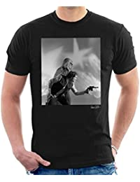 Brian Griffin Official Photography - Star Wars Behind The Scenes Chewbacca And Han Solo Men's T-Shirt