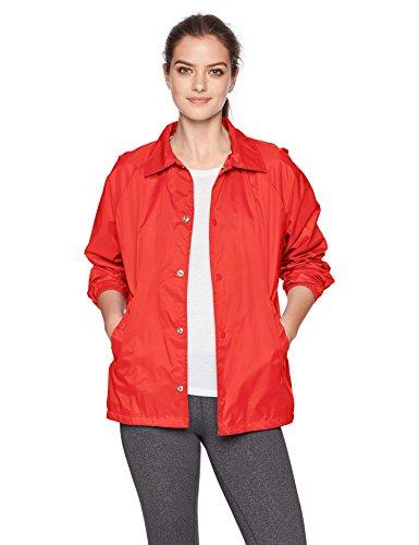 Augusta Sportswear Unisex Nylon Coach Jacke/liniert, Herren, rot, Large