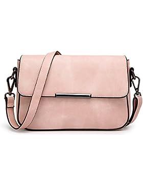 Wewod neue weibliche kleine quadratische Tasche Mode einfach Schulter diagonal Paket Retro-Matte Leder magnetische...