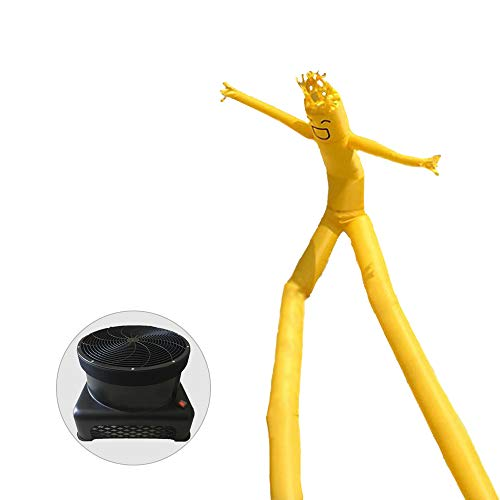HXY Castillo Inflable Sky Dancer Fly Man, Tall Air Dancer Tube Puppet, Dancing Walker Anuncio para Open Sign (with Blower),16.5ft/d550