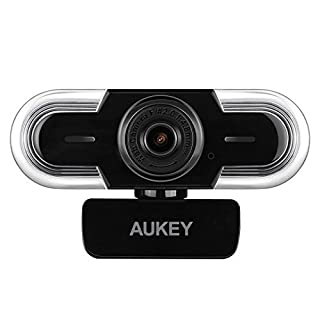 Aukey - Webcam 2K HD con micrófono, Enfoque Manual y Ajuste automático de luz, cámara Web para Chat y grabación, Compatible con Windows, Mac y Android (B077XDFQY6) | Amazon Products