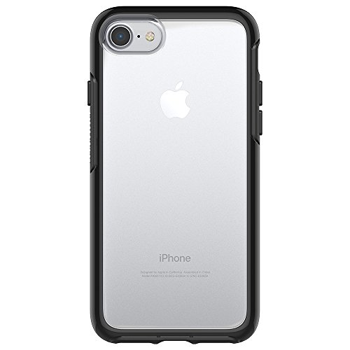 OtterBox Symmetry Clear - Funda de protección para Apple iPhone 7, color negro