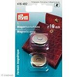 Prym Magnet-Verschluß 19 mm altmessing