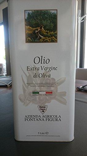 Lattina 5 litri di olio extravergine di oliva cultivar la coratina 2017/18