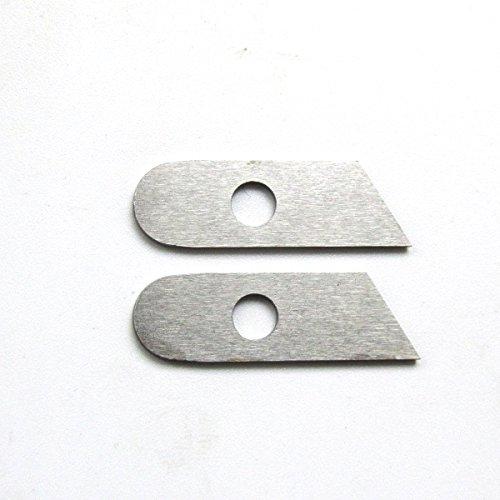 Cuchilla inferior Kunpeng (#550449), para máquinas de coser Singer 14U, Simplicity, Babylock (2 unidades)