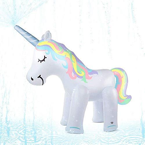Aufblasbarer Wasserspiel-Sprinkler Für Kinder, Innovative Poolflöße Für Kinder Und Aufblasbare Ride-ons Regenbogen-tragbarer Safe-Yard-Sommer-Sprinkler-Spielzeug ()