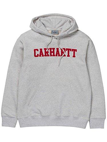 Carhartt Herren Pullover Ch Hooded College Grün (Ash Heather)