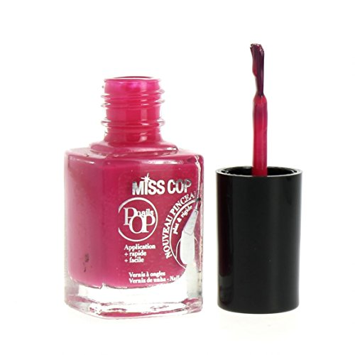 Miss Cop Vernis à Ongles Pops Nails Collection Hiver - Fraise