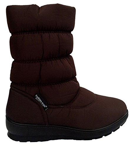 Cushion Walk Thermo-Tex Womens Comfort Fit Winter Boots - in Brown -...