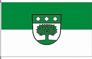 Flagge Fahne Autoflagge Hermaringen - 30 x 45cm