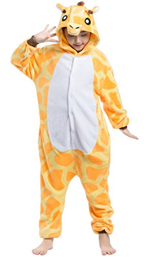 Enfants Unisexe Animal Cosplay Kigurumi Pyjama pour taille 90-146 cm - Girafe