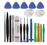 Zerama 20 in 1 cacciaviti Set Telefono Cellulare Spudger Riparazione Bar Tool Kit di Apertura per iPhone di Riparazione degli Attrezzi manuali