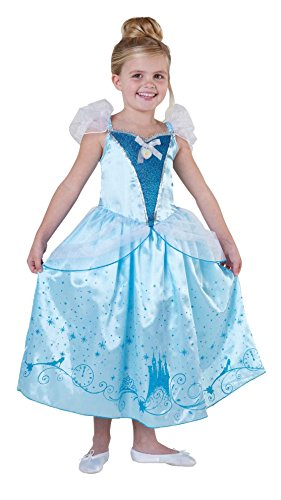 Rubies Disney Princess Cinderella Royale Mädchen Kostüm Fasching Karneval: Größe: S (Mädchen Disney Kostüme)