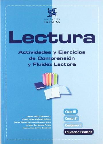 Lectura, actividades y ejercicios de comprensión y fluidez lectora, 5 Educación Primaria. Cuaderno 2