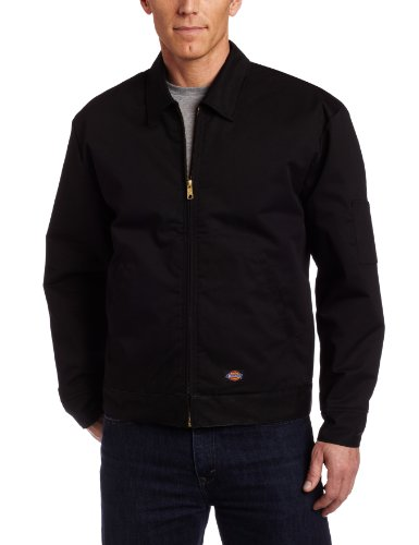 dickies-insulated-eisenhower-abrigo-impermeable-hombre-negro-black-large-tamao-del-fabricantelarge