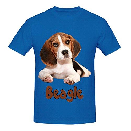 the-beagle-dog-mens-crew-neck-diy-t-shirts-blue