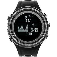 Smart Digital Sport Angeln Armbanduhr mit Tide, Barometer, Höhenmesser, Kompass, Thermometer, und vieles mehr | Best UK Angeln und Outdoor Sports Uhr mit 12Funktionen (Sunroad Modell g-sw830a)