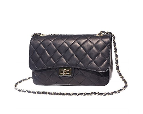 italian-leather-quilted-designer-inspired-handbag-with-gold-trims-navy