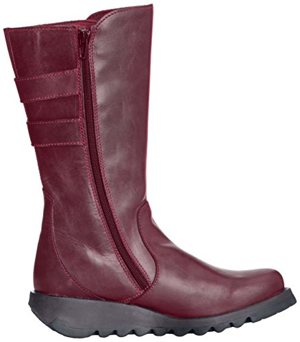 Fly London SULI Damen Combat Boots Violett (Purple 003) eKlMACi
