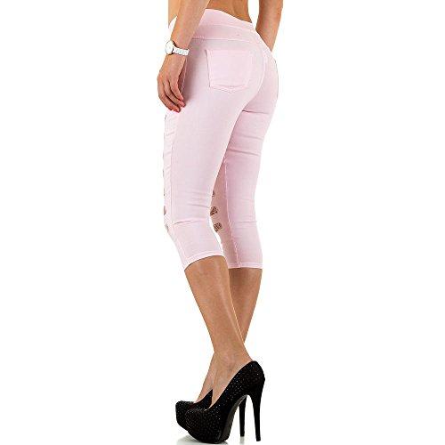 iTaL-dESiGn - Jeans - Femme Rose
