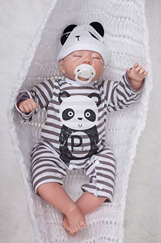 9566dfced ZIYIUI DOLL Muñeca de Silicona Reborn Baby Dolls Toy Reborn doll20  Pulgadas50cm Realista Suave Vinilo de