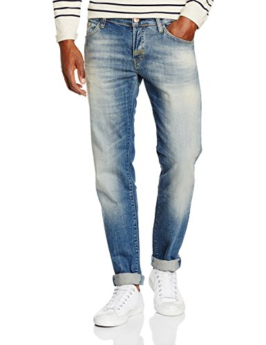Meltin'Pot Melton D1577-UD300 Jeans a Gamba Dritta, Uomo, Blu, W33/L34 (Taglia produttore:33)