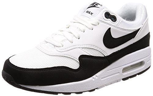 Nike Damen WMNS AIR MAX 1 Laufschuhe, Weiß (White/Black 109), 38 EU (1 Max Air)