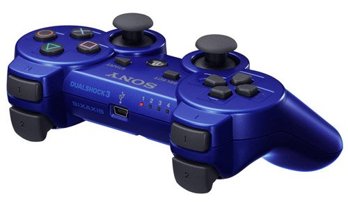PlayStation 3 - DualShock 3 Wireless Controller, blau - Controller Ps3 Blau Wireless