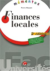 Mementos : Finances locales