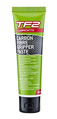 TF2 Lubricants Unisex Carbon Fibre Gripper Paste for Bikes, Green, 10 g by Weldtite
