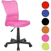SixBros. Bürostuhl Drehstuhl Schreibtischstuhl Pink