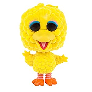 Funko 7133 Sesame Street Pop Vinyl Figure 10 Big Bird Oversized Flocked