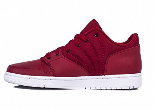 newest 118a2 e840f Nike Herren Jordan 1 Flight 4 Low Basketballschuhe, Rojo (Gym Red Black-