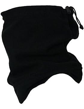 Keep Warm - Bufanda tubular, color negro