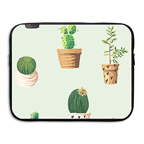 Laptop Sleeve Bag Cactus Plantes Cover Computer Liner Package Protective Case Waterproof Computer Portable Bags -