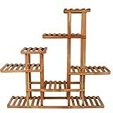 HUANDGA Collezione multistrato di mensola in legno massiccio antisettico