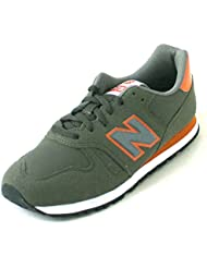 New Balance 373 green/orange