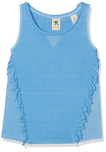 Scotch & Soda R'Belle Mädchen Top Garment Dye Jersey Tank Woven Details, Blau (Sailboat 1089), 164 (Herstellergröße: 14) (Tank Top Mädchen Bella)