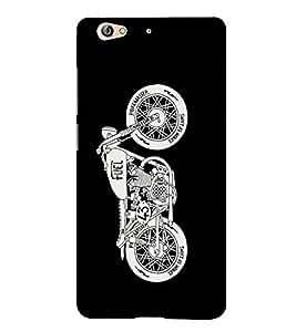 Fuson Designer Back Case Cover for Gionee S6 (Motor bike theme)