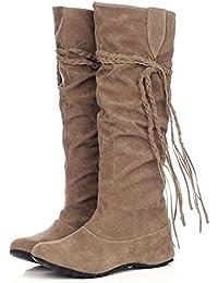 BEAUTY Sommer Stiefelette Damen Schuhe Stiefel camel 37