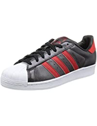 Adidas Superstar Schuhe core black-collegiate red-collegiate red - 41 1/3