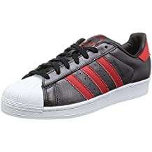 buy popular 324f1 175a9 Adidas Superstar Schuhe core black-collegiate red-collegiate red - 40 2 3