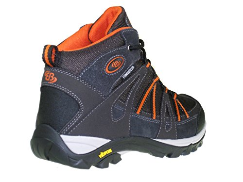 Brütting Bottes de randonnée hautes TORNADO HIGH Homme braun-orange