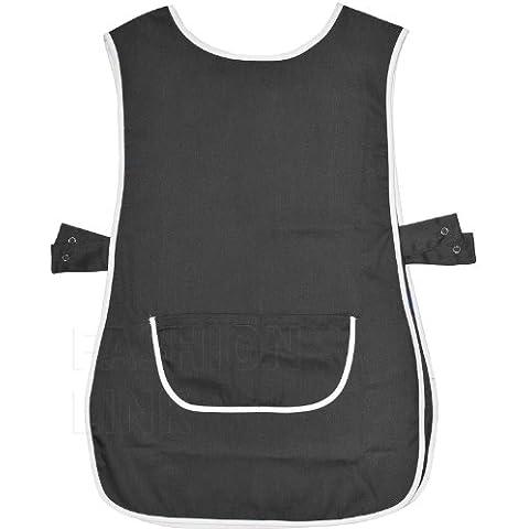 uniform solutions -  Felpa con cappuccio  - Basic - Uomo - Uniform Nero