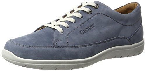 Ganter Gill - Scarpe stringate Donna Blu (jeans/graublau)